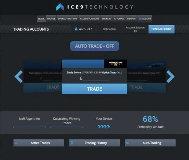 ice9 technology dashboard