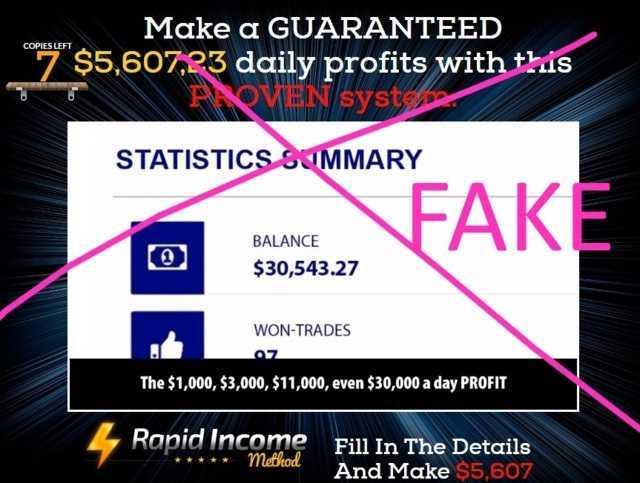 rapid income method